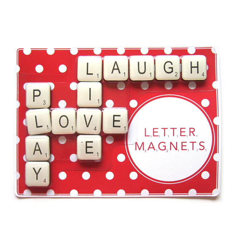 Custom Epoxy Magnetic Letters set 14pcs per set