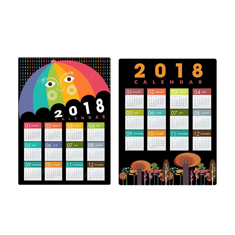 Custom Magnetic Calendar for Refrigerator