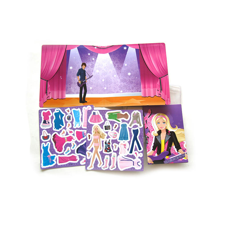 Magnetic Dress-Up Set, Pretend Play, Perfect for Kids Learning