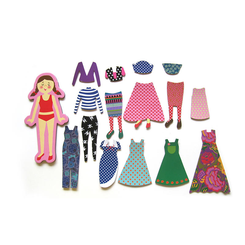 DIY Magnetic Dress-Up Set Perfect for Kids Learning