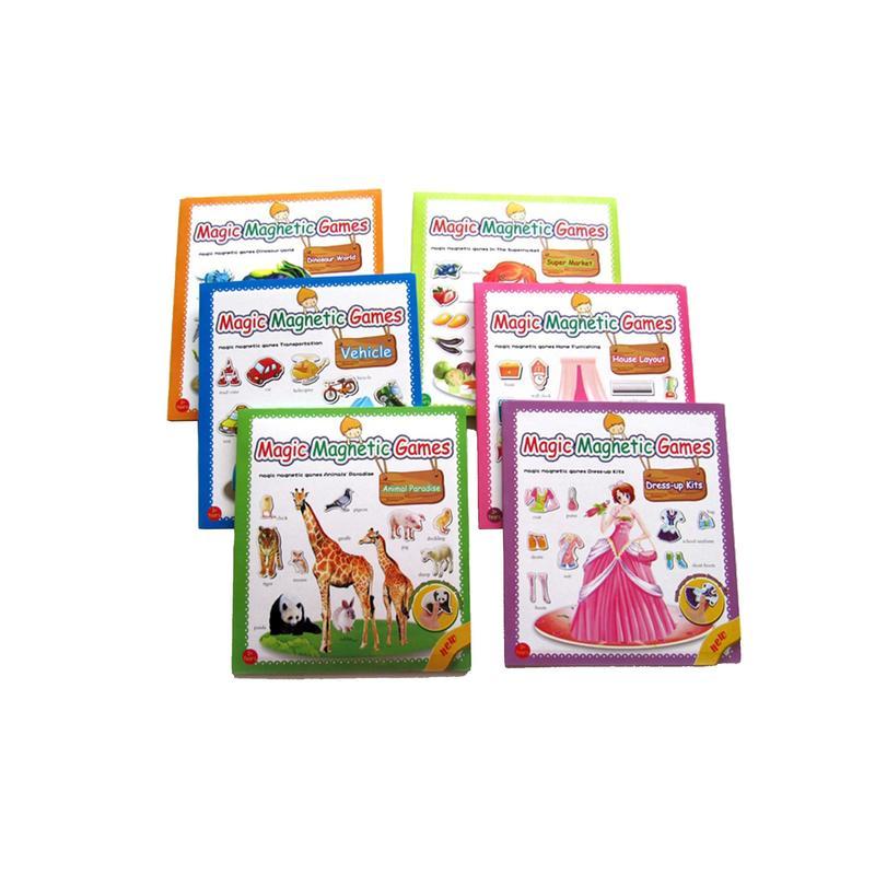 Custom Magic Magnetic Games Set for Kids Learning