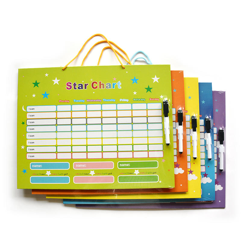 Magnetic Star Chart Reward Behavior  for Kids