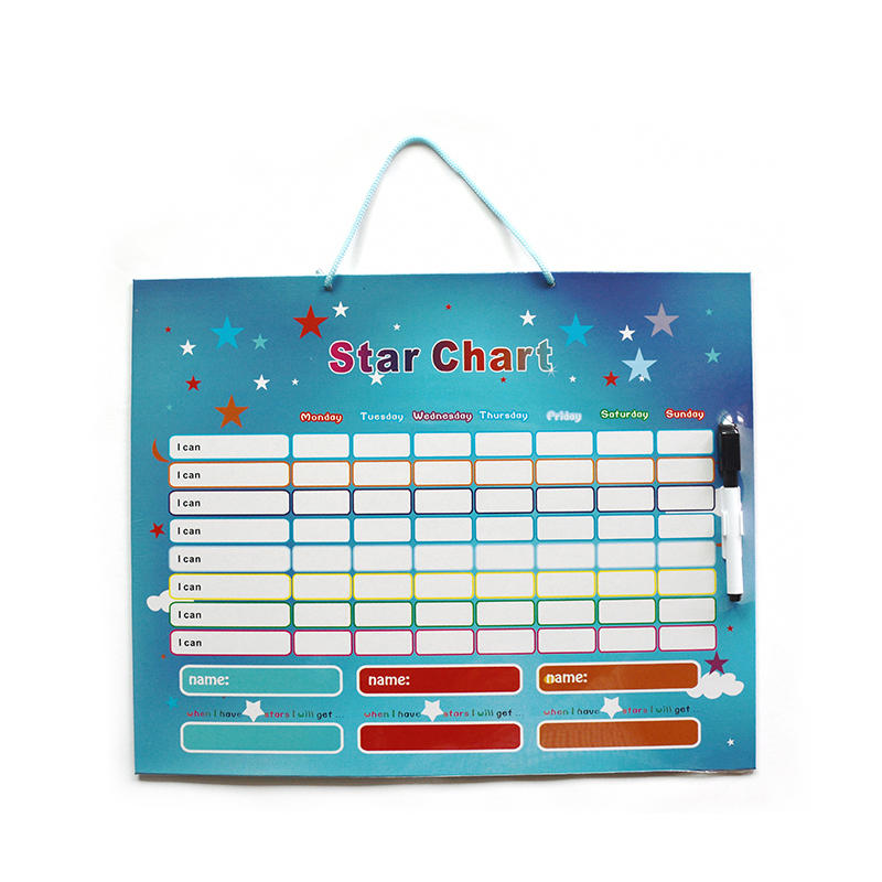 Magnetic Star Chart Reward Behavior  for Kids