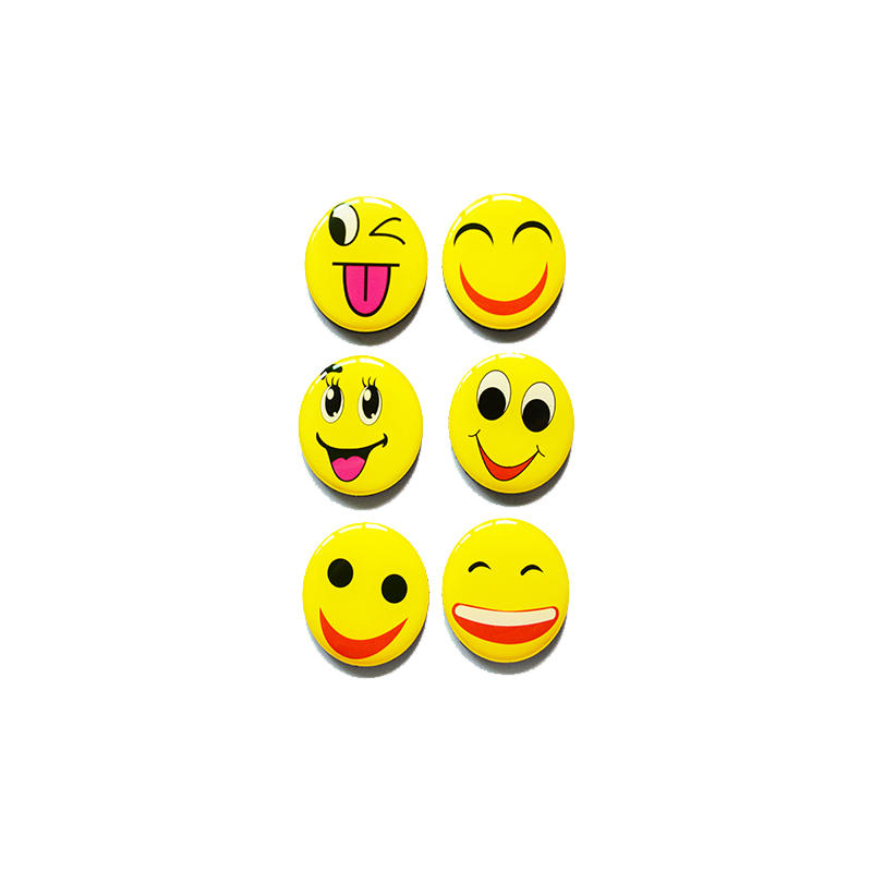 Emoji Epoxy Funny Refrigerator Magnets for Kitchen Home School Classroom