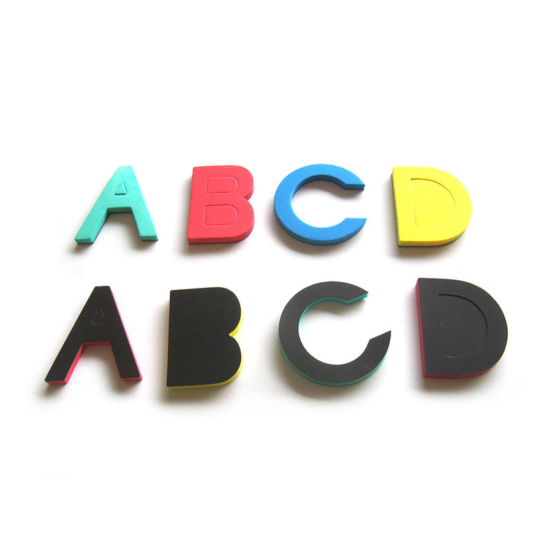 Colorful EVA Foam Magnetic Alphabet Letters for kids learning