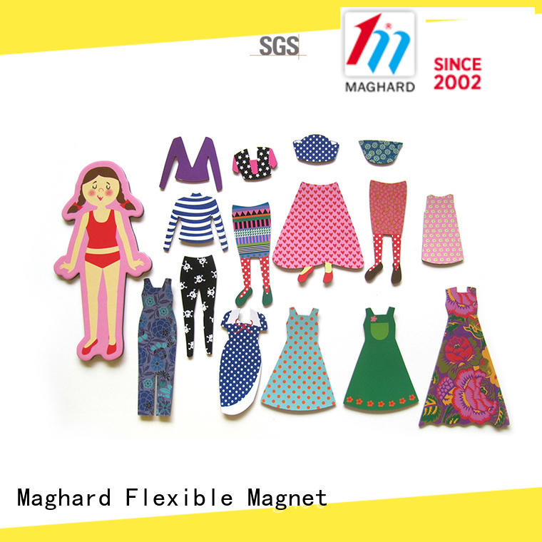 Maghard low cost Magnetic Dress-up Set for kids for souvenirs