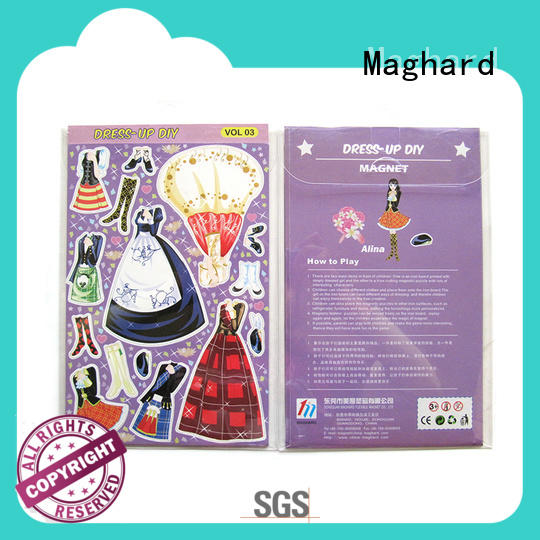 Maghard learning magnetic dress up with good price for displays