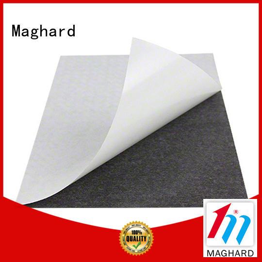 self adhesive magnetic sheet & custom fridge magnets