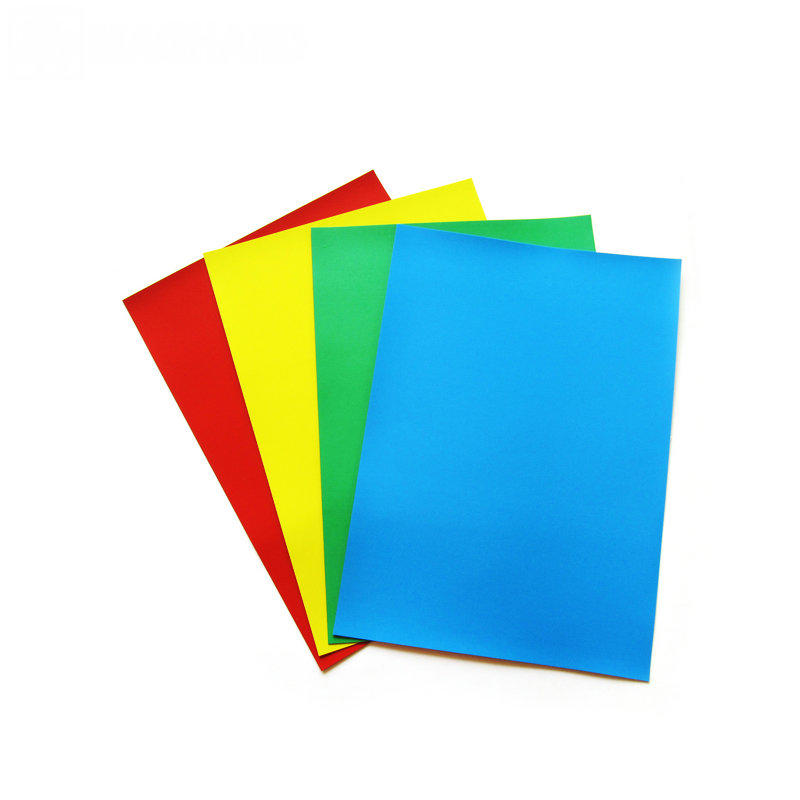 Magnetic sheet with color PVC