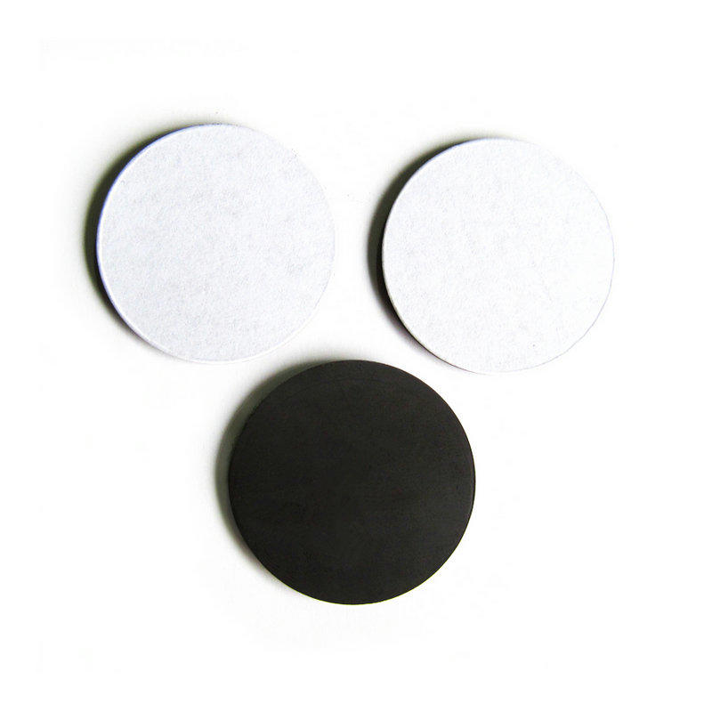 magentic dots with adhesive