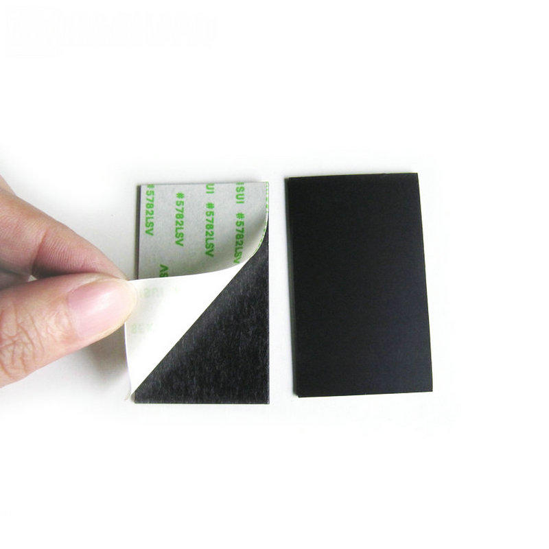 Custom small magnet with adhesive