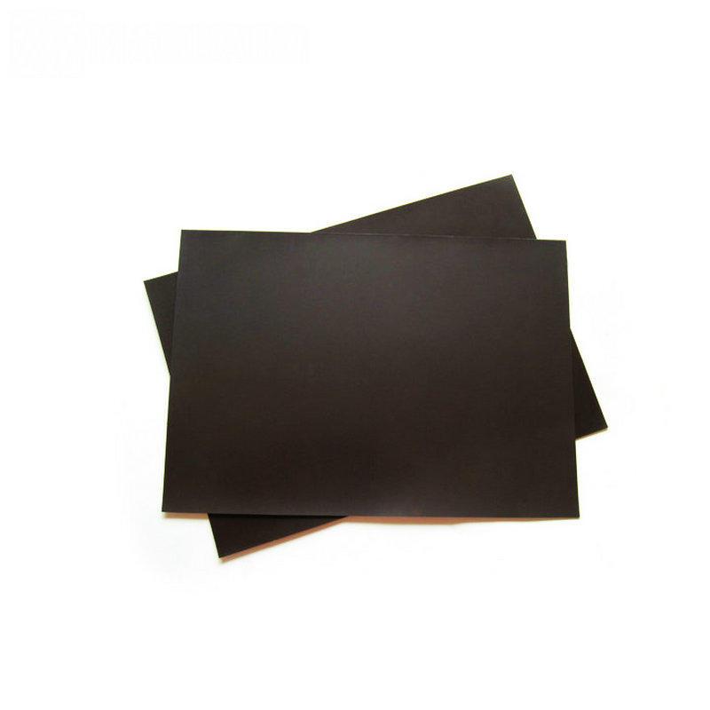 Custom flexible rubber plain magnetic sheet