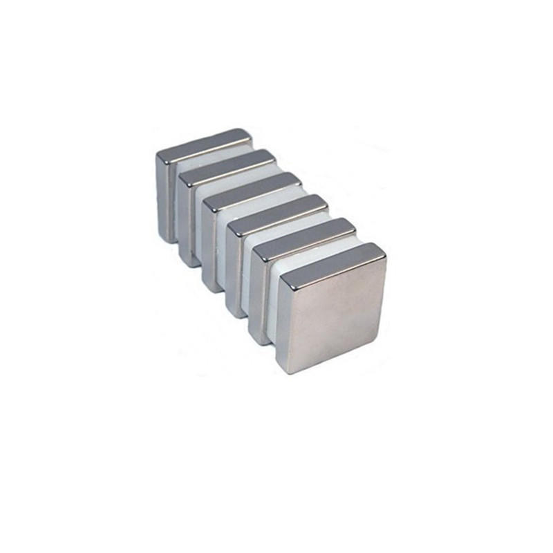 "Neodymium Magnets N50 2"" x 2"" x 1"" NdFeB Rare Earth Rectangular Magnet"