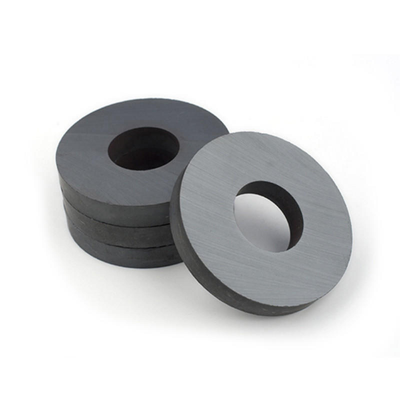 CMS Magnetics Ceramic Magnets Hard Ferrite Magnets Ring shape D40mm - Crafts, Science and Hobbies