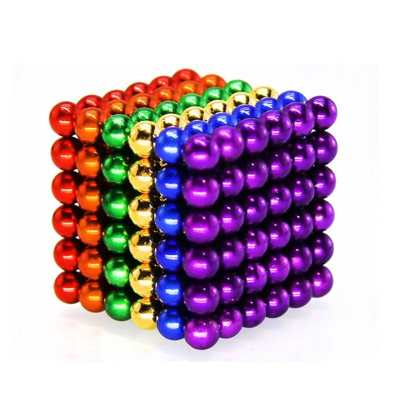 Magnetic Balls -  Set of 216(5mm) - Fun Stress Relief Desk Toy for Adults