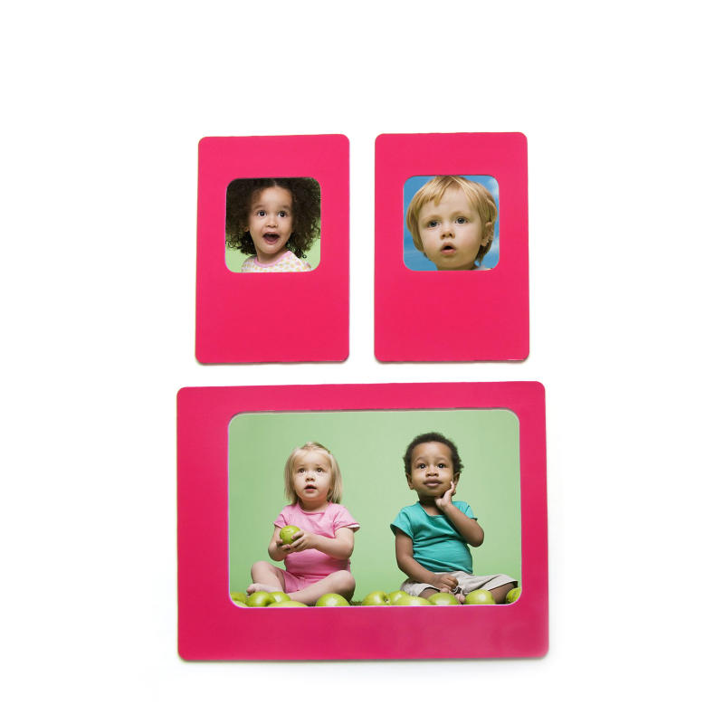 Rubber Magnet Composite photo frame fridge magnet