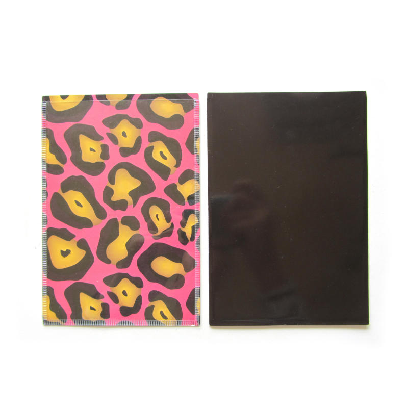 Custom magnetic photo pocket pvc file pocket for promotional gift