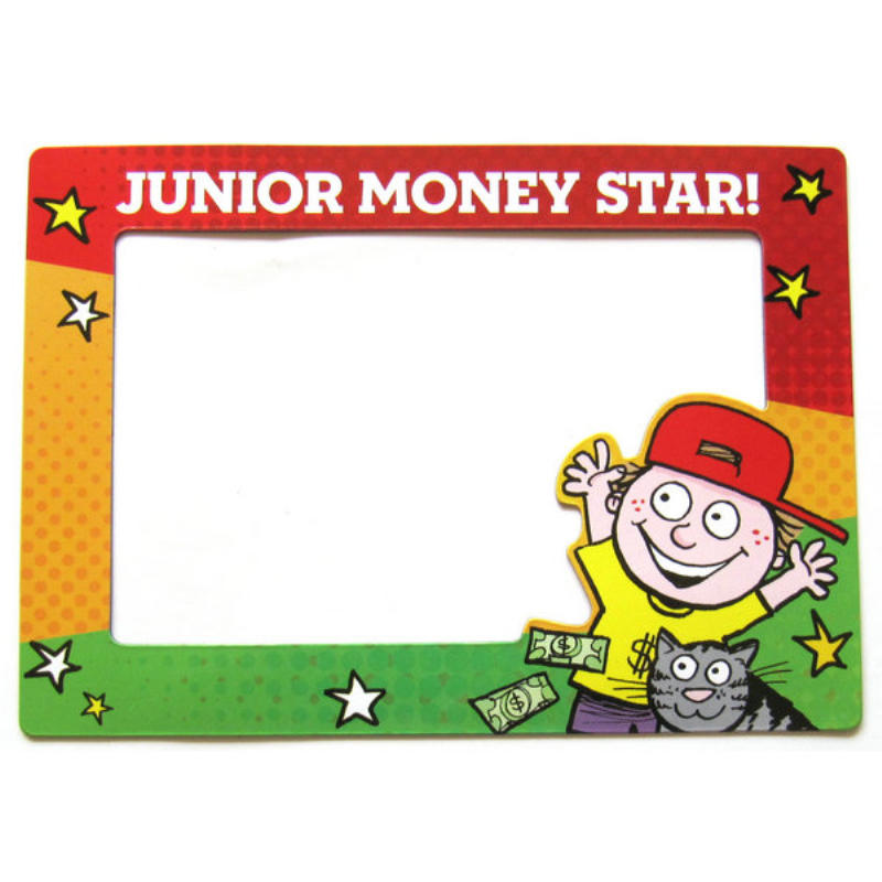 Promotional Custom 5x5 cute magnetic photo frame for kids