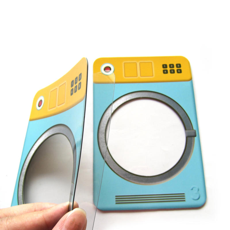 Promotional Inserting color paper multiple magnetic photo frame