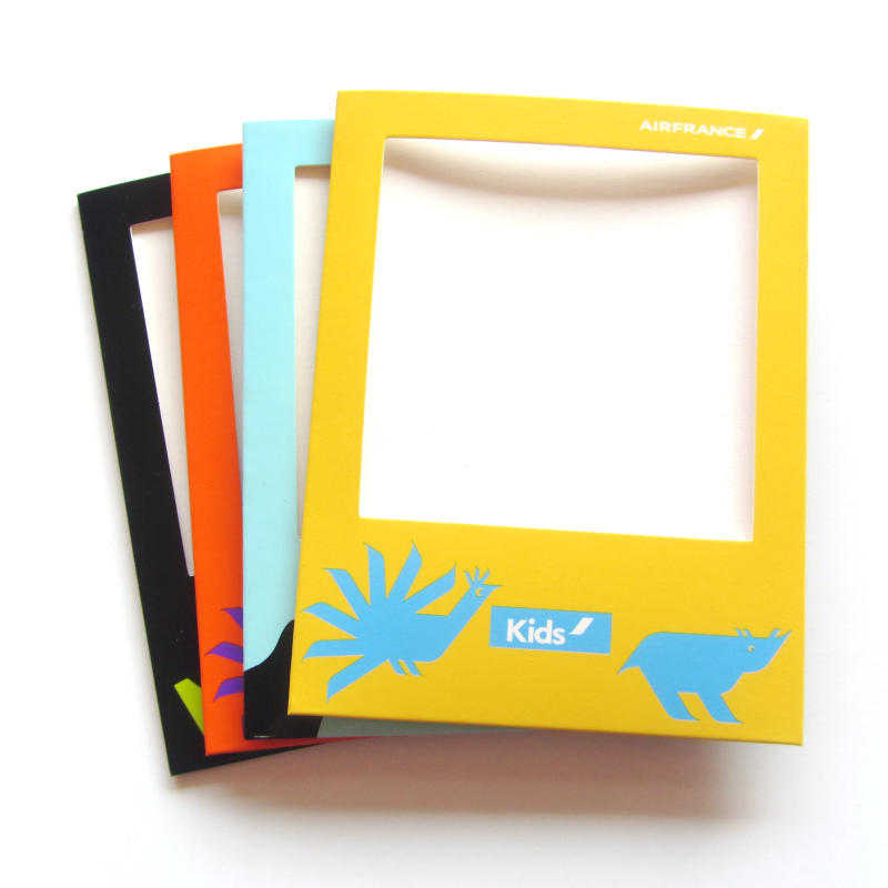 Hot sale custom design cheap colorful AKH souvenir photo frame pocket