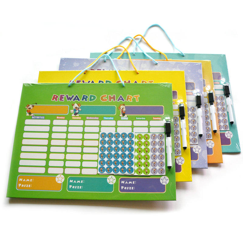 magnetic reward chart & adhesive magnetic strips