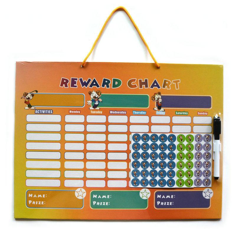Magnetic reward chart