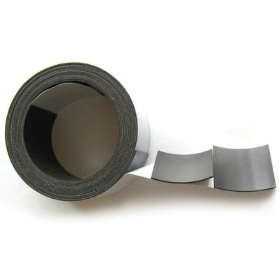 Strong flexible rubber magnet self adhesive magnetic tape with die cut