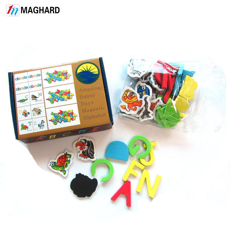 Magnetic Foam Letters and Numbers Premium Quality ABC