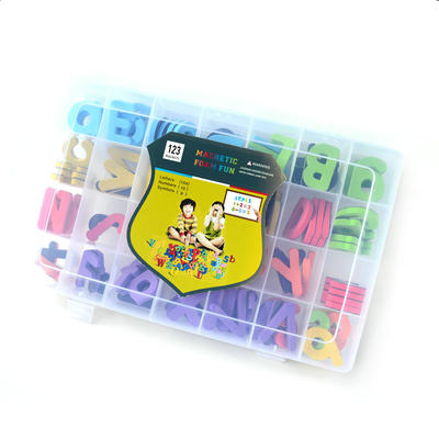 Magnetic Letters 52pcs upper case and 78pcs lower cases