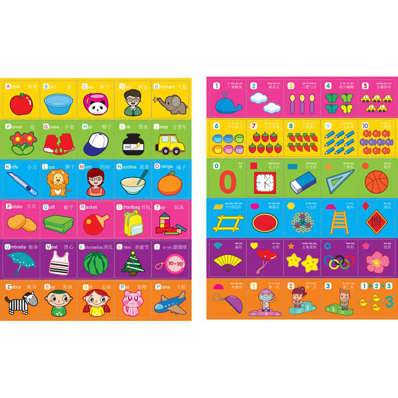 Children Magnetic Learning Case ABC learing