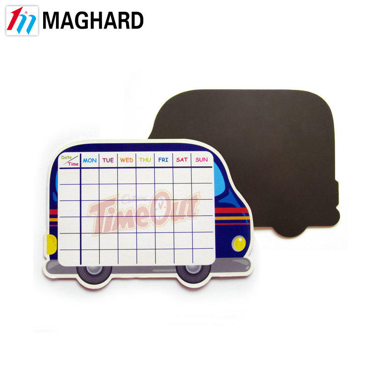 hot selling calendar magnetic writing board with dry eraser