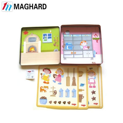 Tin Box Magnetic Games Travel Games