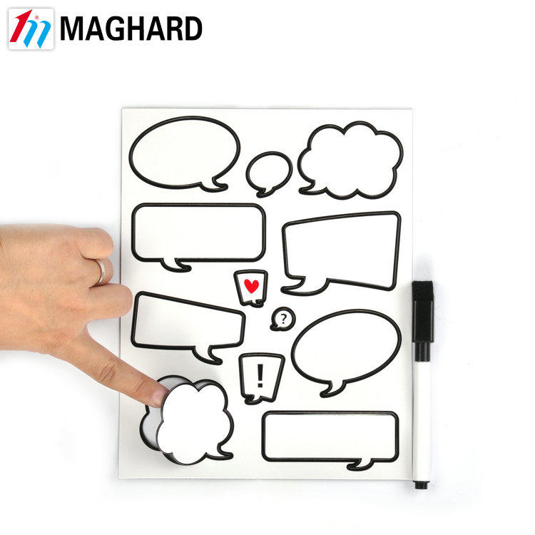 Custom Eco-friendly dry erase magnetic writing board for promotion