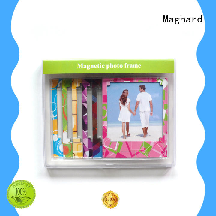 Maghard photo magnetic frames order now for refrigerators
