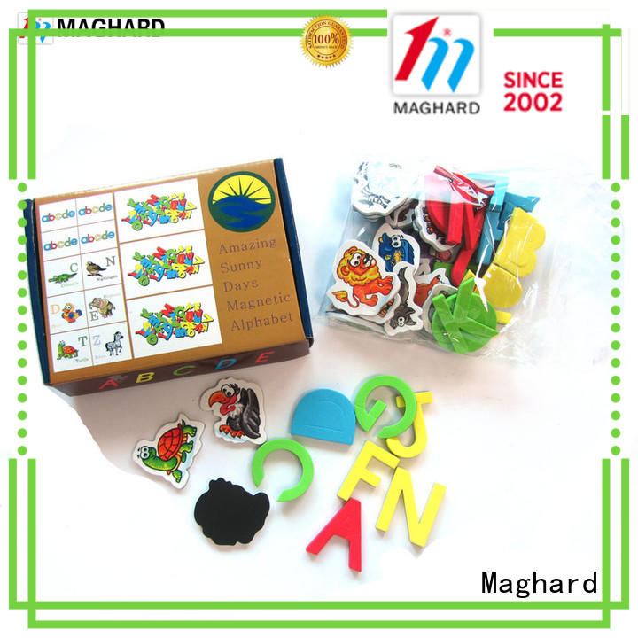 nice magnetic letters colorful