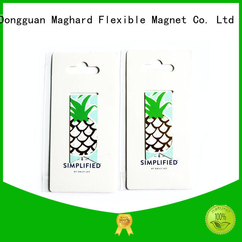 Maghard colorful magnetic bookmarks at discount for displays