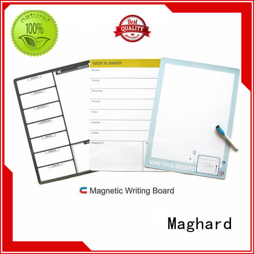 Maghard chalkboard magnetic notice board for doodle pad