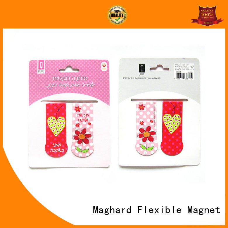 lovely magnetic bookmarks colorful at discount for gift box